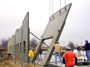 Insulated Tilt Up Walls Insul Deck Insulated Concrete